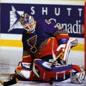 Grant Fuhr - St. Louis Blues