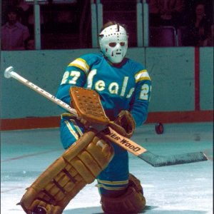 Gilles Meloche - California Golden Seals