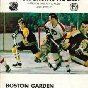 1970 BOBBY ORR AT BOSTON GARDEN